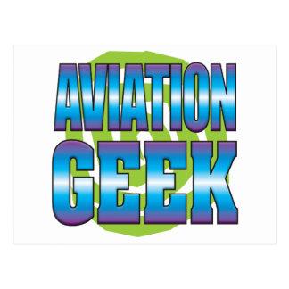 Aviation Geek v3 Postcard