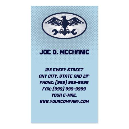 Aircraft Maintenance Mechanic Aviation Business Cards