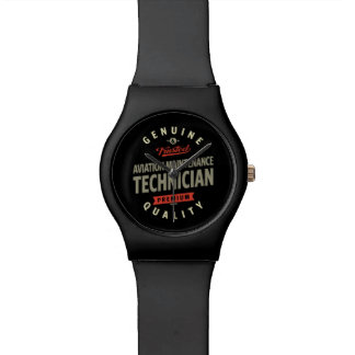 Aviation Maintenance Technician Wrist Watch
