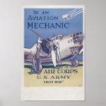 Aviation Mechanic Posters