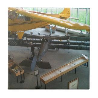 Aviation museum airplanes ceramic tile