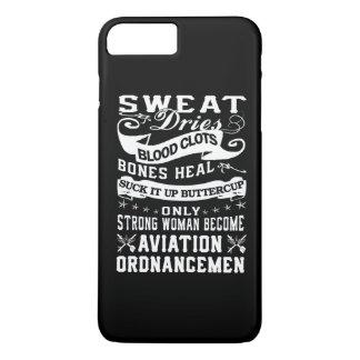 Aviation Ordnanceman Woman iPhone 8 Plus/7 Plus Case