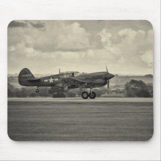 Aviation photo mousepad