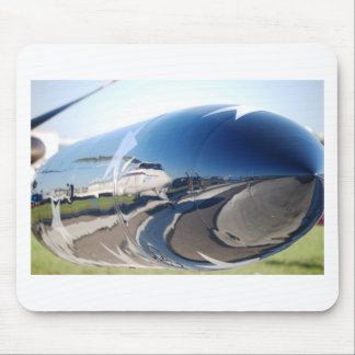 Aviation Reflection Mouse Pad