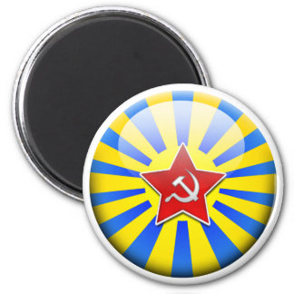 Aviation Russian Flag Magnet