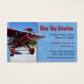 Aviation Services Business Card