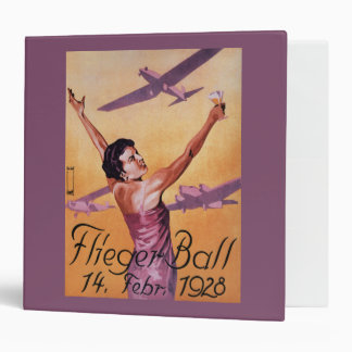 Aviation Show at Hotel Wagner Promo Poster 3 Ring Binder