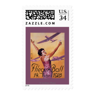 Aviation Show at Hotel Wagner Promo Poster Postage