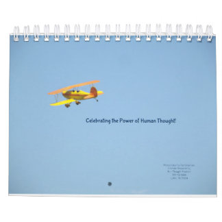 Aviation - The Power of Thought Calendar