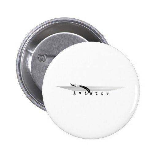 Aviator 2 Inch Round Button