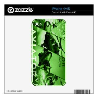 Aviator AIrcrafts iPhone 4S Skins