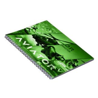 Aviator AIrcrafts Spiral Notebook