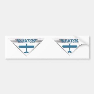 Aviator Bumper Sticker