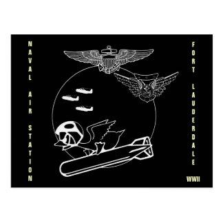 Aviator Duck Postcard