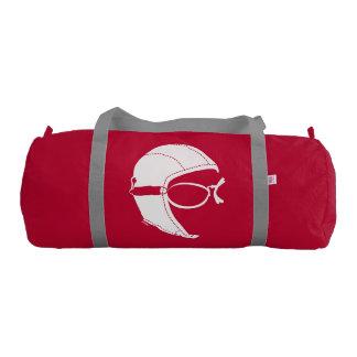 Aviator Duffle Gym Bag, Red Gym Bag