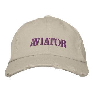 Aviator Embroidered Baseball Cap