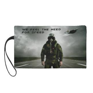 Aviator Fighter Pilot Wristlet Purse