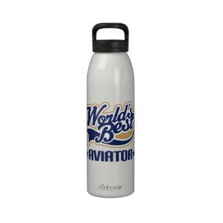 Aviator Gift Water Bottle