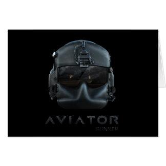 Aviator Gunner Card
