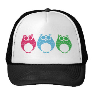 Aviator Owl 02 Trucker Hats