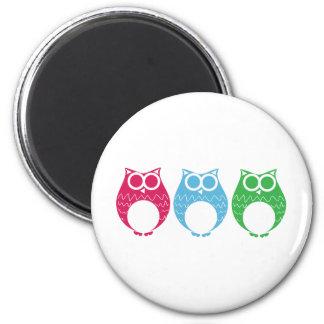 Aviator Owl 02 Magnet