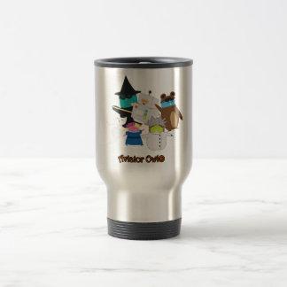 Aviator Owl® Dancing Halloween Travel Mug