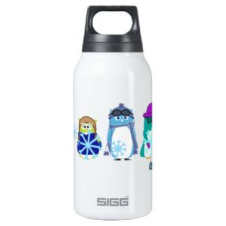 Aviator Owl™ Snowflakes Thermos Bottle