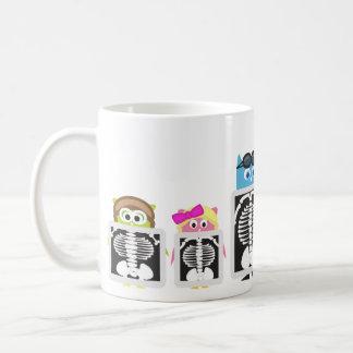 Aviator Owl XRay Coffee Mug