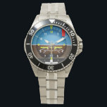 "Aviator Pilot Watch<br><div class=""desc"">Artificial Horizon Aviator Pilot Watch</div>"