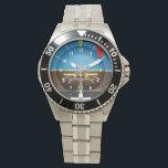 """Aviator Pilot Watch<br><div class=""""desc"""">Artificial Horizon Aviator Pilot Watch</div>"""