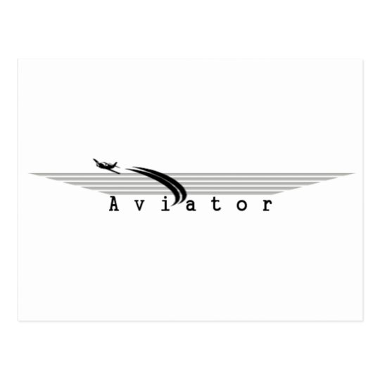 Aviator Postcard