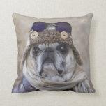 Aviator Pug Pillow