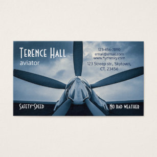 Safety business cards templates zazzle aviator safety speed customizable business card colourmoves Image collections