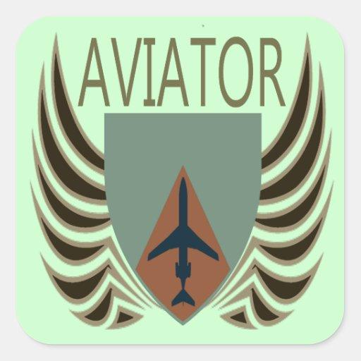 Aviator Stickers