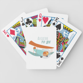 Aviator To Be Bicycle Playing Cards