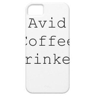 Avid Coffee Drinker Black Blue Red iPhone SE/5/5s Case