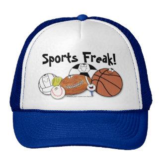 Avid Sports Fan- Sports Ball Characters Trucker Hat