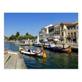 Aviero Portugal Postcard
