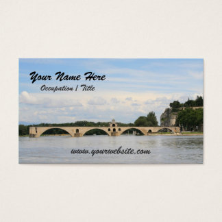 Avignon Bridge Business Card