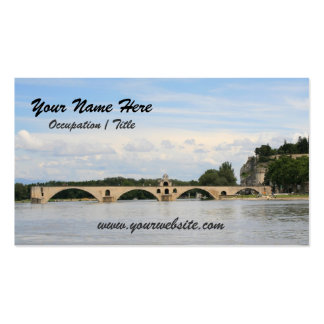 Avignon Bridge Double-Sided Standard Business Cards (Pack Of 100)