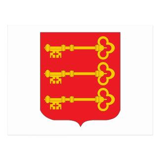 Avignon Coat of Arms Postcard