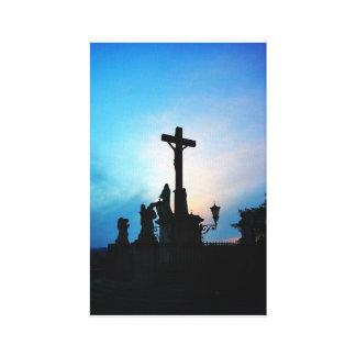 Avignon Cross Canvas Print