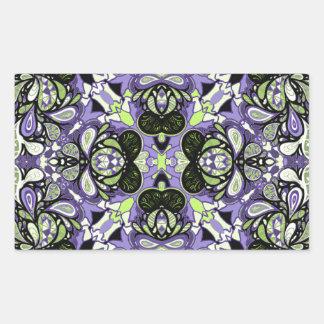 Avignon Design Rectangular Sticker