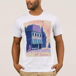 Avignon France cartoon travel poster T-Shirt