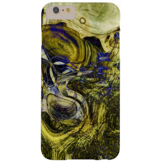 Avignon Olive Green Abstract Art Barely There iPhone 6 Plus Case