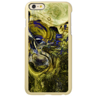 Avignon Olive Green Abstract Art Incipio Feather Shine iPhone 6 Plus Case