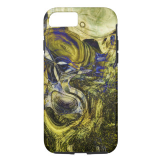 Avignon Olive Green Abstract Art iPhone 8/7 Case