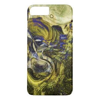 Avignon Olive Green Abstract Art iPhone 8 Plus/7 Plus Case