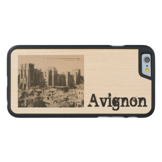 Avignon - Popes Palace Carved Maple iPhone 6 Case
