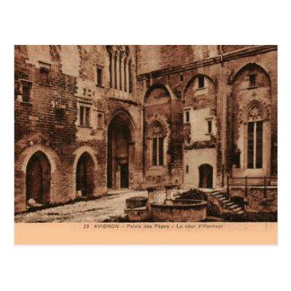 Avignon Popes Palace France 1930 Postcard